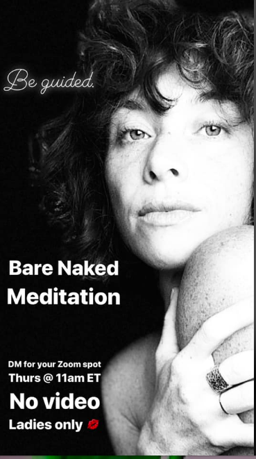 Bare Naked Meditation